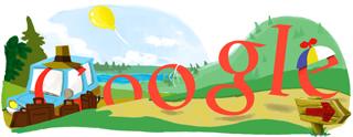 Google Logo: Summer solstice - Summer is here